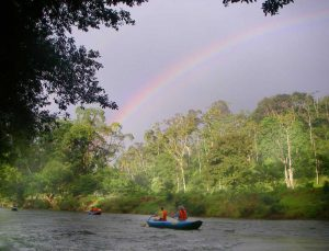 Paddling on the Rainbow